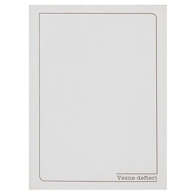 Bayındır Vezne Defteri 24x34 Cm 40 Yaprak