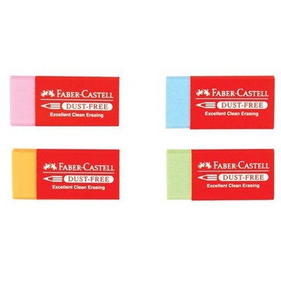 Faber Castell Dust-free Renkli Silgi Silgiler