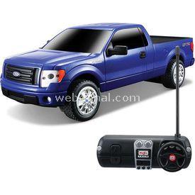 Maisto Tech 1:24 Ford F-150 Stx U/k Araba Mavi Arabalar
