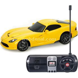 Maisto Tech 1:24 2013 Srt Viper Uzaktan Kumandalı Araba Sarı Arabalar