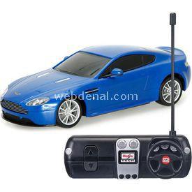 Maisto 1:24 Aston Martin V8 Vantage S R/c Mavi U/k Araba Arabalar