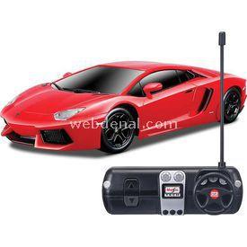 Maisto Tech 1:24 Lamborghini Aventador Lp U/k Araba Kırmızı Arabalar