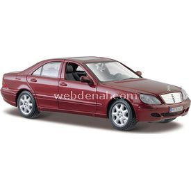Maisto Mercedes-benz S-class 1:24 Model Araba S/e Bordo Arabalar