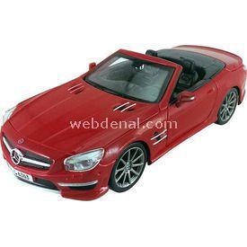 Maisto Mercedes-benz Sl 63 Amg 1:24 Model Araba S/e Kırmızı Arabalar