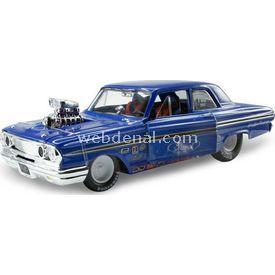 Maisto Ford Fairline Thunderbolt 1964 1:24 Model Araba P/r Mavi Arabalar