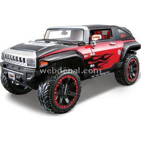 Maisto 2008 Hummer Hx Concept 1:24 Model Araba Allstars Kırmızı Arabalar