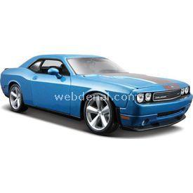 Maisto Dodge Challenger Srt 2008 1:24 Model Araba S/e Mavi Arabalar
