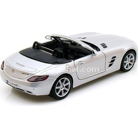 Maisto Mercedes-benz Sls Amg Roadster 1:24 Model Araba S/e Gri Arabalar