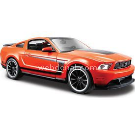 Maisto Ford Mustang Boss 302 1:24 Model Araba S/e Turuncu Arabalar
