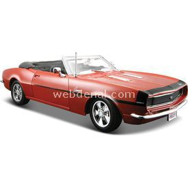 Maisto 1968 Chevrolet Camaro Ss 396 1:24 Model Araba S/e Bronz Arabalar