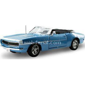 Maisto Chevrolet Camaro 1968 396 1:24 Model Araba S/e Mavi Arabalar