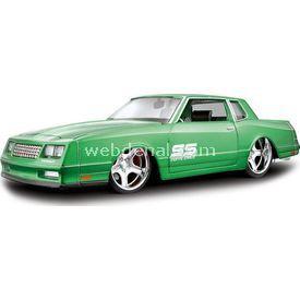 Maisto 1986 Chevrolet Monte Carlo 1:24 Model Araba Allstars Yeşil Arabalar