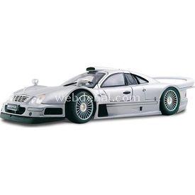 Maisto Mercedes-benz Clk-gtr (street) 1:18 Model Araba P/e Gri Arabalar