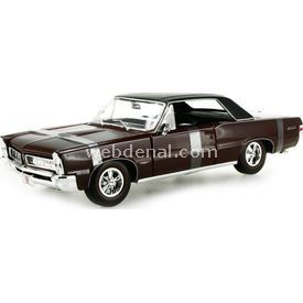 Maisto 1965 Pontiac Gto Araba 1:18 Model Araba Special Edition Bordo Arabalar