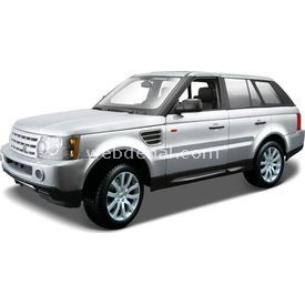 Maisto Range Rover Sport 1:18 Model Araba S/e Gümüş Arabalar