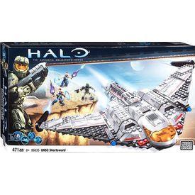 Mega Bloks Halo Wars Unsc Shortsword Uçağı Lego Oyuncakları