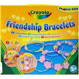 Crayola Arkadaşlık Bilezikleri Seti Eğitici Oyuncaklar