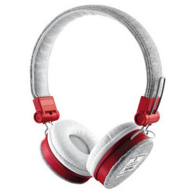 Trust 20073 Fyber Headphone-Gri/Kırmızı Kafa Bantlı Kulaklık