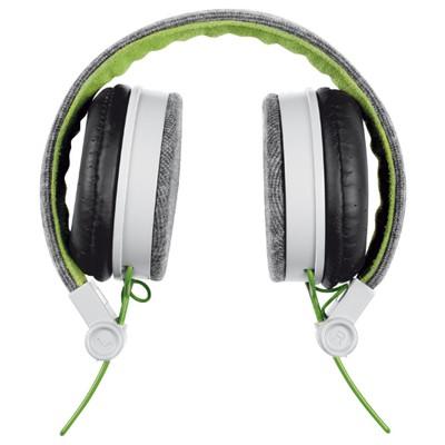 Trust Urban 20080 Fyber Headphone-Gri/Yeşil Kafa Bantlı Kulaklık