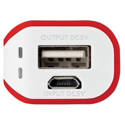 Trust Urban PowerBank 2200 - Kırmızı/Beyaz (20067)