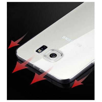Microsonic Samsung Galaxy S6 Clear Soft Şeffaf Kılıf Cep Telefonu Kılıfı