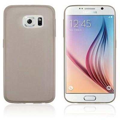 Microsonic Transparent Soft Samsung Galaxy S6 Kılıf Siyah Cep Telefonu Kılıfı