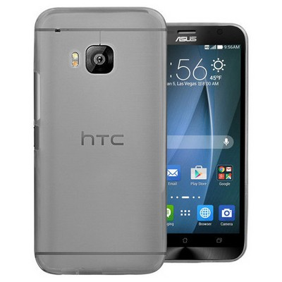 Microsonic Transparent Soft Htc One M9 Kılıf Siyah Cep Telefonu Kılıfı