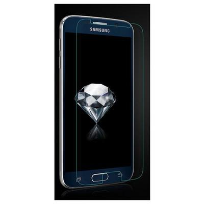 Microsonic Temperli Cam Ekran Koruyucu Samsung Galaxy S6 Kırılmaz Film Ekran Koruyucu Film