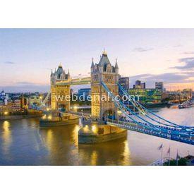 Clementoni 1000 Parça  Tower Bridge Puzzle