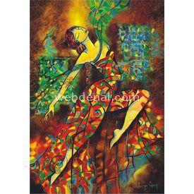 Anatolian 500 Parça  Renklerle Dans Puzzle