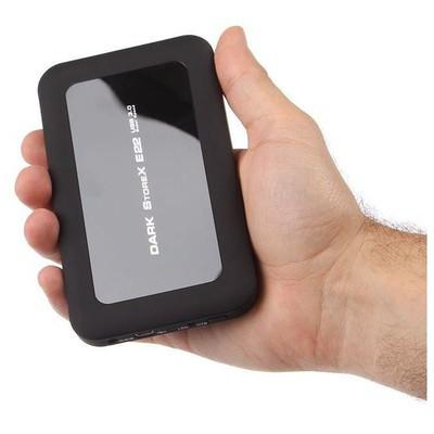 """Dark DK-AC-DSE22U3B Alüminyum USB3.0 Tek tuş yedekleme OTB 2,5"""" SATA Hard Disk Kutusu Harici Disk Kutusu"""