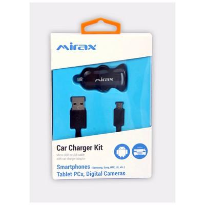 Mirax Micro USB bağlantılı araç şarj kiti (Samsung, Sony, HTC, LG) Şarj Cihazları