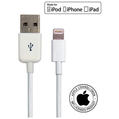 Mirax iPhone & iPad Lightning kablo Orijinal Apple Lisanslı Dönüştürücü Kablo