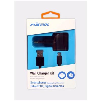 Mirax Micro USB bağlantılı araç şarj kiti, Android (Samsung, Sony, HTC, LG) uyumlu Şarj Cihazları
