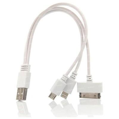 Dark Dk-cb-usb23wl20 Iphone 30pin / Lightning / Micro Usb 20cm Şarj Kablosu USB Kablolar