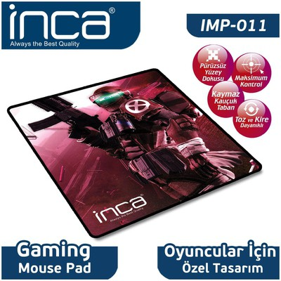 Inca Imp-011 Imp-011 Oyun  (kauçuk) Mouse Pad