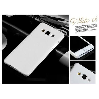 Microsonic Premium Slim Samsung Galaxy E7 Kılıf Beyaz Cep Telefonu Kılıfı