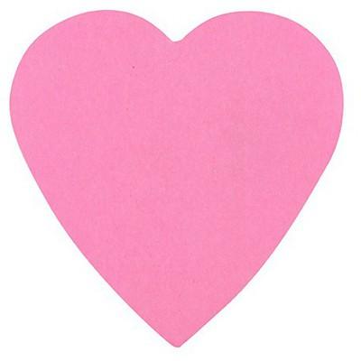 Post-It 3m  Kalp Şeklinde 225 Yaprak (2007h) Not Kağıdı