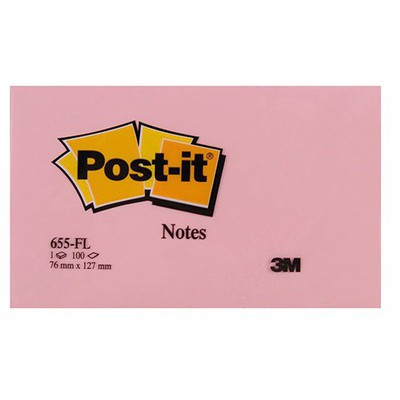 Post-It 3m  76 X 127 Mm Floral Serisi 100 Yaprak (655fl) Not Kağıdı