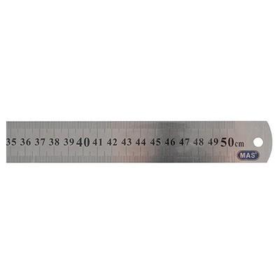 MAS 2350 50cm Çelik Cetvel