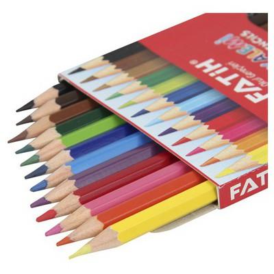 Fatih Tam Boy Boya Kalemi 12 Renk Resim Malzemeleri