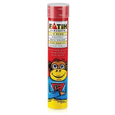 Fatih 12 Renk Tam Boy Tüplü Boya Kalemi Resim Malzemeleri