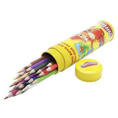 Play-doh 24 Renk Kuru Boya Tüp Resim Malzemeleri