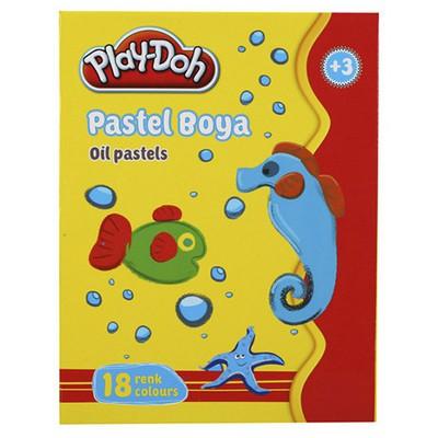 Play-doh 18 Renk Pastel Boya Resim Malzemeleri