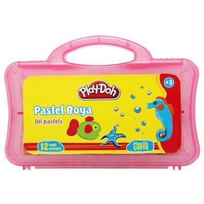 Play-doh 12 Renk Pastel Boya Pvc Resim Malzemeleri