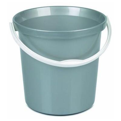 Bora Plastik Lüks Temizlik Kovası 12 L Gri Kova ve Temizlik Setleri