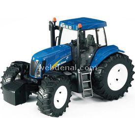 Bruder New Holland T8040 Traktör Iş Makinası Erkek Çocuk Oyuncakları