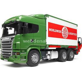 Bruder Scania R-serisi Konteynir ? Forklift Iş Makinası Erkek Çocuk Oyuncakları