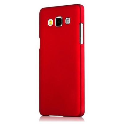 Microsonic Premium Slim Samsung Galaxy E5 Kılıf Kırmızı Cep Telefonu Kılıfı