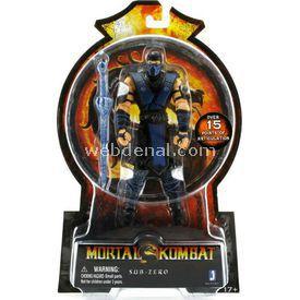 Necotoys Mortal Kombat Sub-zero Figür 15 Cm Figür Oyuncaklar